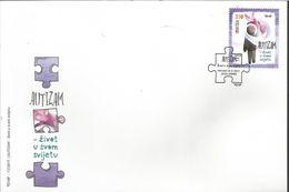 HR 2017-1292 AUTIZAM, HRVATSKA CROATIA, FDC - Kroatien