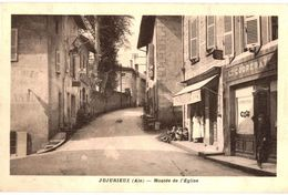CPA N°9740 - JUJURIEUX - MONTEE DE L' EGLISE - Other Municipalities