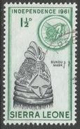 Sierra Leone. 1961 Independence. 1½d Used. SG 225 - Sierra Leone (1961-...)