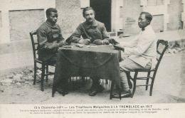 N°55846 -cpa La Tremblade - 13è Bataillon Tirailleurs Malgaches En 1917- - War 1914-18
