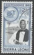Sierra Leone. 1961 Independence. 2d Used. SG 226 - Sierra Leone (1961-...)