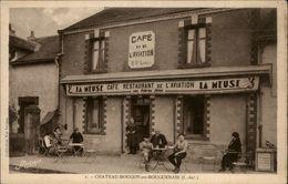 44 - BOUGUENAIS - Chateau-Bougon - Restaurant De L'aviation - Facturier Au Verso - Bouguenais