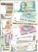 200 DIFERENTS BANKNOTES OF THE WORLD QUALITY UNC   ////// BILLETES DIFERENTES SIN CIRCULAR - Alla Rinfusa - Banconote