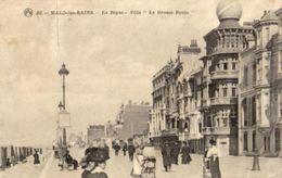 "MALO LES BAINS   -  La Digue  -  Villa  ""La Grosse Boule""   -  (1910) - Ed. PTD - Malo Les Bains"