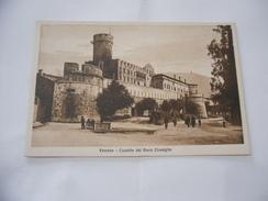 CARTOLINA TRENTO CASTELLO DEL BUONCONSIGLIO ANIMATA. - Trento