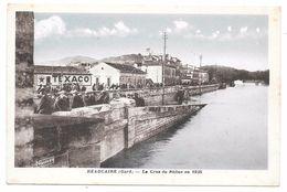30 - Beaucaire - La Crue Du Rhône En 1935 - Ed. NOUVEN Colorisée - Beaucaire