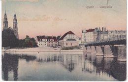 Alte Ansichtskarte Aus Oppeln (Opole) -Oderpartie- - Schlesien