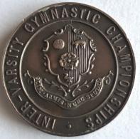 Médaille. Inter Varsity Gymnastic Championships. Fencing. Escrime. 1922. 30 Mm - Jetons & Médailles