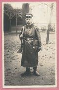 Guerre 14/18 - Carte Photo Allemande - Foto - ZWICKAU - Fahrer - Chauffeur - Soldat Allemand - 3 Scans - Guerra 1914-18