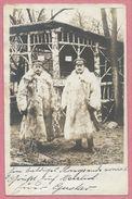 Guerre 14/18 - Carte Photo Allemande - Foto - Soldats Allemands - Pelzmantel - Fahrer - Chauffeur - Feldpost - Guerra 1914-18