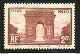 N° 258 Neuf** (Arc De Triomphe)  COTE= 95 Euros !!! - Nuevos