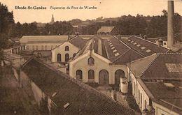 Rhode-St-Genèse - Papeteries Du Pont De Warche (1966) - Rhode-St-Genèse - St-Genesius-Rode
