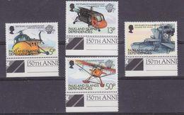 Falkland Islands Dependencies 1983 Bicentenary Of Manned Flight 4v +margin)  ** Mnh (36893) - Zuid-Georgia