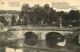 280917 - 19 BRIVE - Pont Cardinal Tourny Et Route De Malemort - Poète J DE SAINT GERMAIN écrevisse - Brive La Gaillarde
