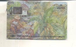 Télécarte Polynesie Française Pecheurs 30 Sous Blister - New Caledonia