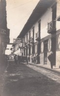Medellin(?) Colombia, Street Scene, 'El Buen Tono' Warehouse Written On Back, Business Signs, C1900s Vintage Postcard - Colombia