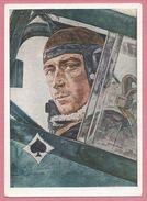 Carte Signée - W. WILLRICH - Oberst MÖLDERS - Jagdflieger - Feldpost - Guerre 39/45 - War 1939-45