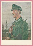 Carte Signée - Werner BERG - Jäger Im Norden - Feldpost - Guerre 39/45 - Guerre 1939-45