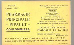 Buvard Pharmacie Principale PIPAULT à Coulommiers - Produits Pharmaceutiques