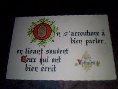 Calendrier De Poche Publicitaire Calygraphie  Librairie De La Renaissance Jean Gaudry A Beaunes  Annee 1974 - Calendriers