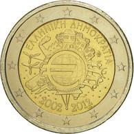 Grèce, 2 Euro, 10 Ans De L'Euro, 2012, SUP+, Bi-Metallic - Grèce