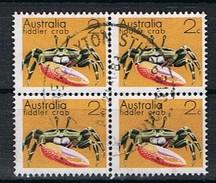 Australie Y/T 500 (0) In Blok Van 4. - 1966-79 Elizabeth II