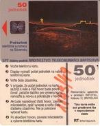 TARJETA TELEFONICA  DE ESLOVAQUIA (BRATISLAVA). (258) - Eslovaquia