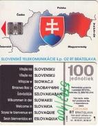 TARJETA TELEFONICA  DE ESLOVAQUIA (BRATISLAVA). (260) - Eslovaquia
