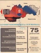 TARJETA TELEFONICA  DE ESLOVAQUIA (BRATISLAVA). (261) - Eslovaquia