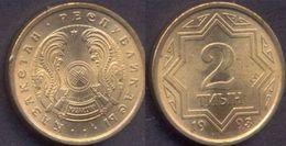 Kazakhstan 2 Tyin 1993 UNC - Kazakhstan