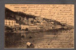 1913 NAPOLI Posillipo Panorama FP V SEE 2 SCANS Animata Barche - Napoli