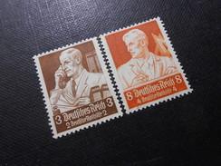 D.R.Mi 556/560 - 3+2Pf**+8+4Pf**/MNH - 1934 - Mi 20,00 € - Germany