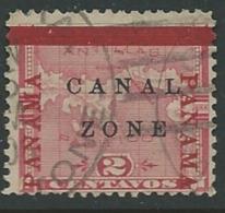 Panama  - Canal Zone - Yvert N° 11   Oblitéré  - Ai26608 - Panama