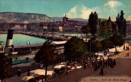 SUIÇA, GENEVE, PONT DU MONT BSL BLANC   [40256]4256 - GE Genève
