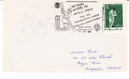 """Beautiful And Rare Cover With Cricket Stamps And Cancellation India Great Player """"Kumar Shri Ranjitsinhji"""". - Cricket"""