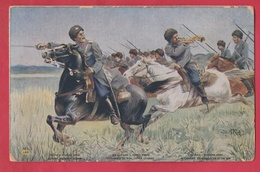 Armée Russe / Russian Army -  Cosaques Du Don - By Cosacks Of The Don ( Voir Verso ) - Russie