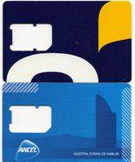 2 Tarjetas SIM De Ancel - Uruguay