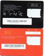 2 Tarjetas SIM De Claro - Uruguay