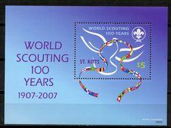 ST KITTS - 100TH ANNIVERSARY SCOUTING  S465 - St.Kitts-et-Nevis ( 1983-...)