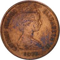 Îles Caïmans, Elizabeth II, Cent, 1972, British Royal Mint, TTB, Bronze, KM:1 - Cayman Islands
