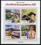 SIERRA LEONE -  23RD WORLD SCOUTING JAMBOREE   S491 - Sierra Leone (1961-...)