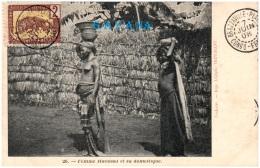 CONGO FRANCAIS - Femme Haoussa Et Sa Domestique  (Recto/Verso) - Congo Français - Autres
