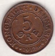 Denmark. 5 ORE 1912. Frederik VIII. KM# 806 - Dänemark