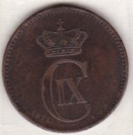 Denmark. 5 ORE 1874 CS .  Christian IX. KM# 794.1 - Danemark