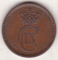 Denmark. 1 ORE 1887 CS . Christian IX. KM# 792.1 - Danemark