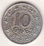 Denmark. 10 ORE 1907 VBP . Frederik VIII. En Argent ,  KM# 807 - Danemark