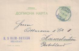 Jugoslawien   Alte Ganzsache ... .. ( Ka1110 ) Siehe Bild ! - Postal Stationery