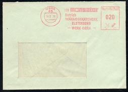 3010 - Alter Beleg - Bedarfspost - Freistempel Freistempler - Gera Monsator Wärmegerätewerk Elsterberg 1975 - DDR
