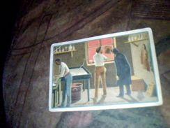 Vieux Papier Chromo Image Scolaire  Vieux Metiers Le Cabinet Noir Du Photographe Ancien - Otros