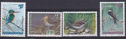 Luxembourg 1993  - N°1280/83 XX  Oiseaux Menacés - Bécassine -Martin-pêcheur - Petit  Gravelot - Hirondelle - Golondrinas